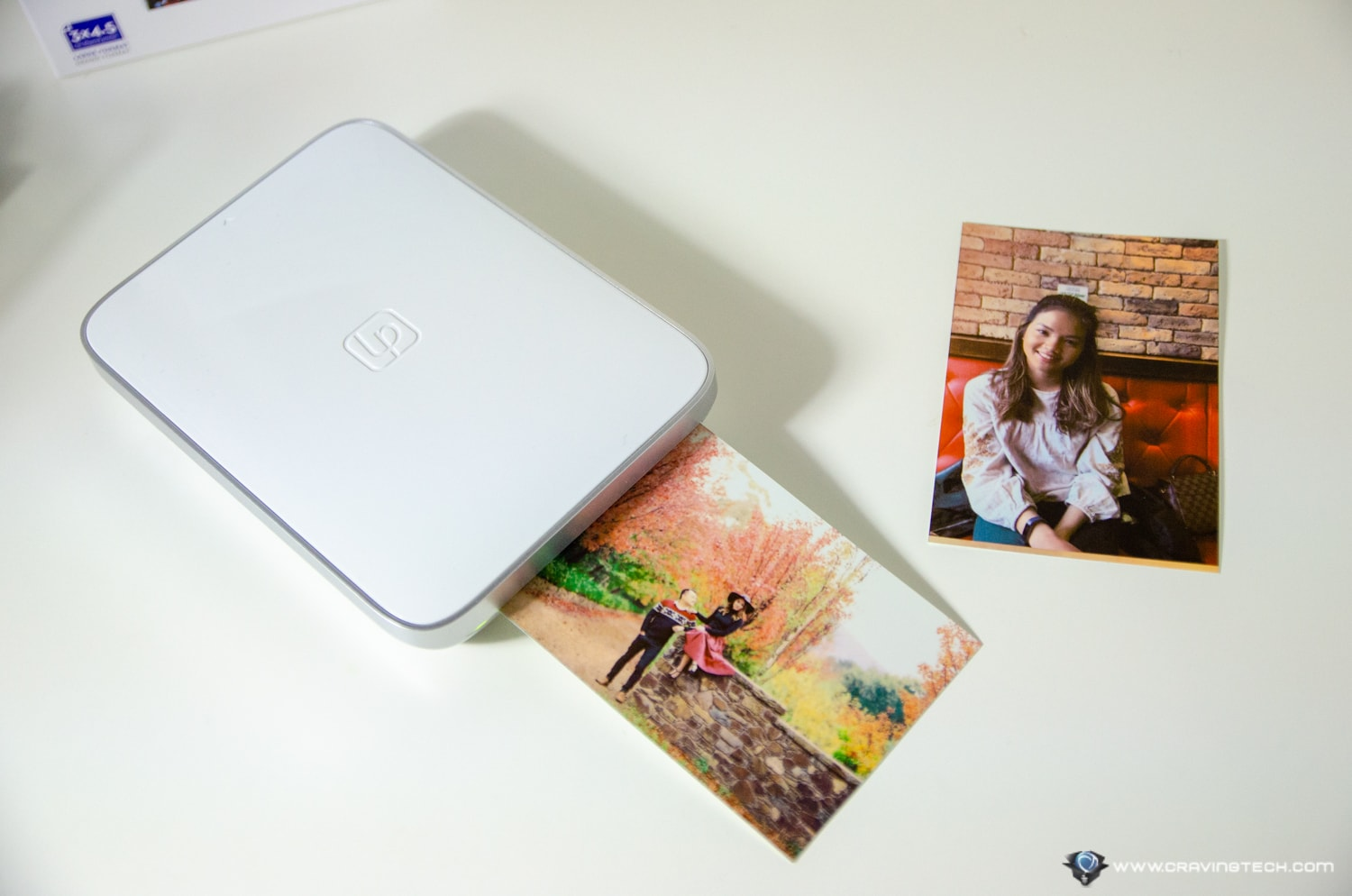 Print Apple Live Photos & GoPro Videos with this portable photo printer