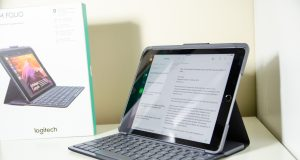 Logitech Slim Folio iPad Keyboard Case Review