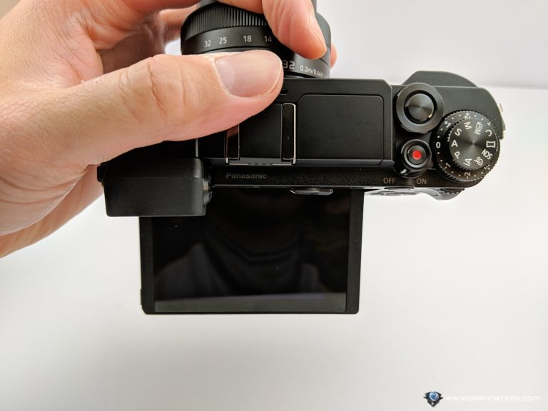 Panasonic Lumix GX9 articulated screen