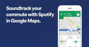 Spotify Google Maps