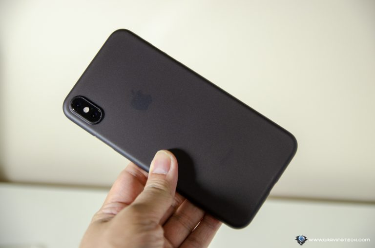 Totallee iPhone Xs Max Matte Black