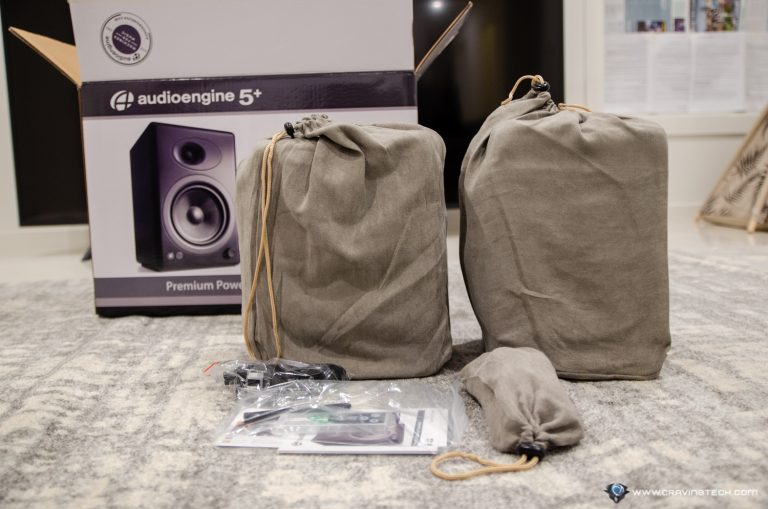 AudioEngine A5+ Wireless Packaging