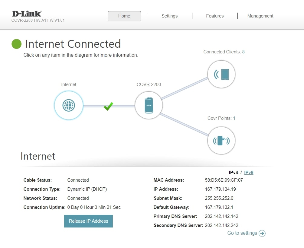 D-Link COVR-2022 Review - Strong Wi-Fi signals in a double storey home