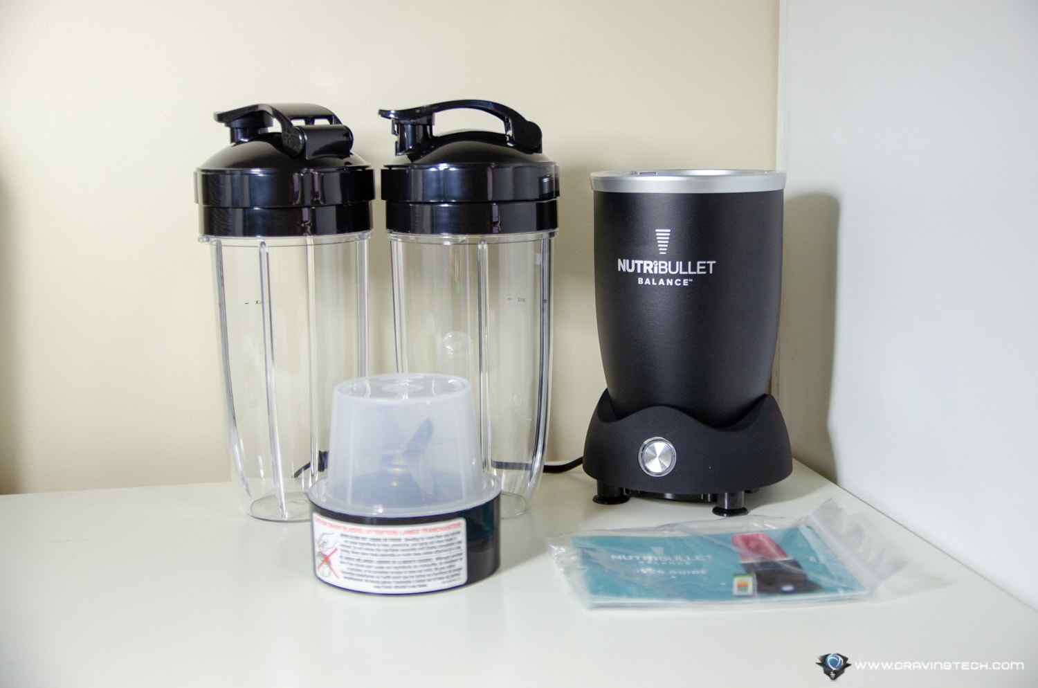 Nutribullet Balance Packaging
