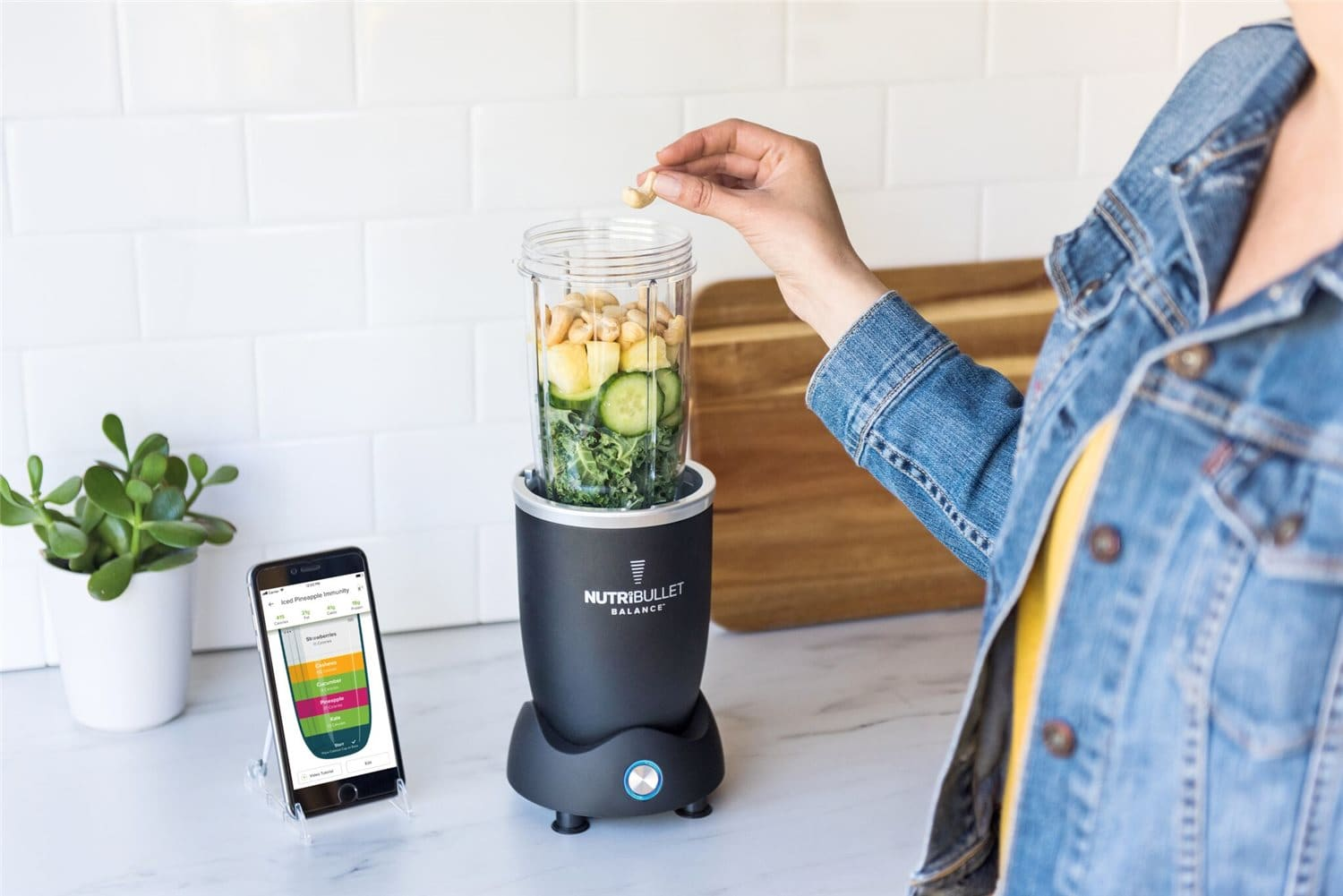 Nutribullet live weight system
