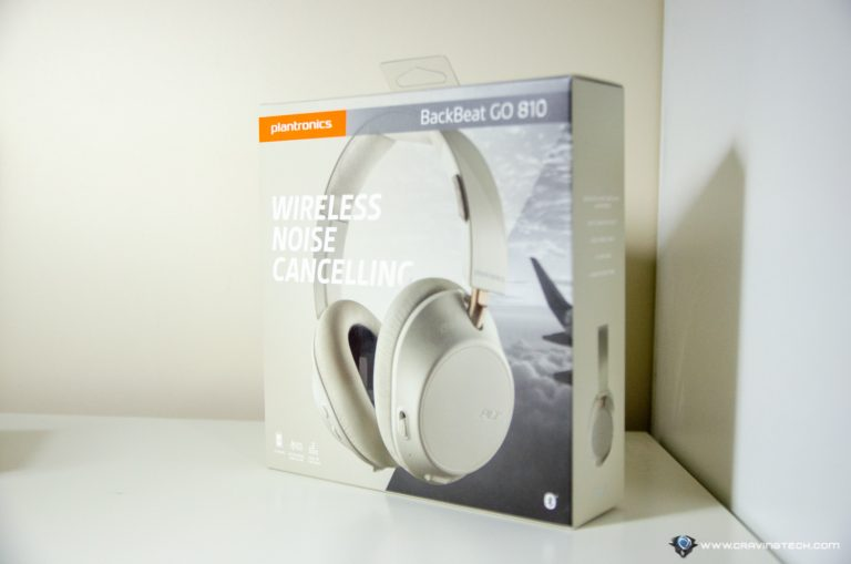 Plantronics BackBeat GO 810 Packaging