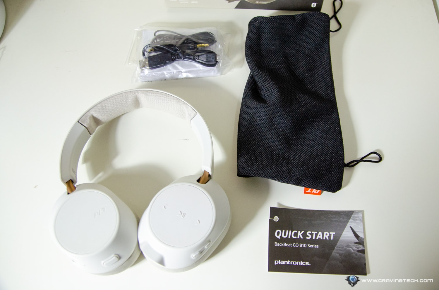 Plantronics BackBeat GO 810 Packaging Contents