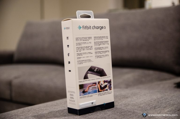 Fitbit Charge 3 Packaging
