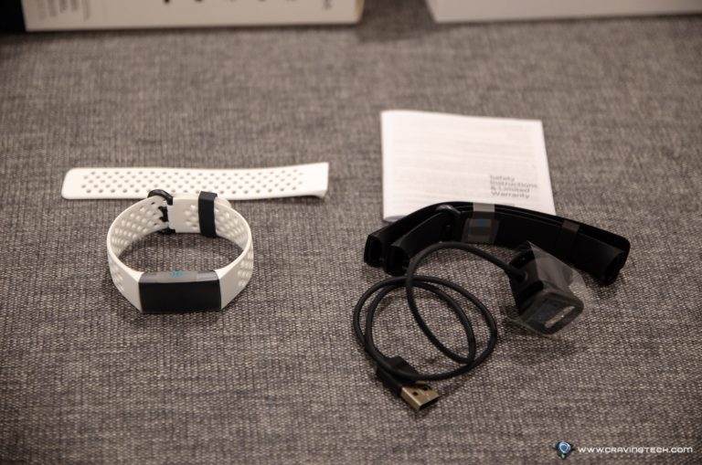 Fitbit Charge 3 Review - Packaging contents