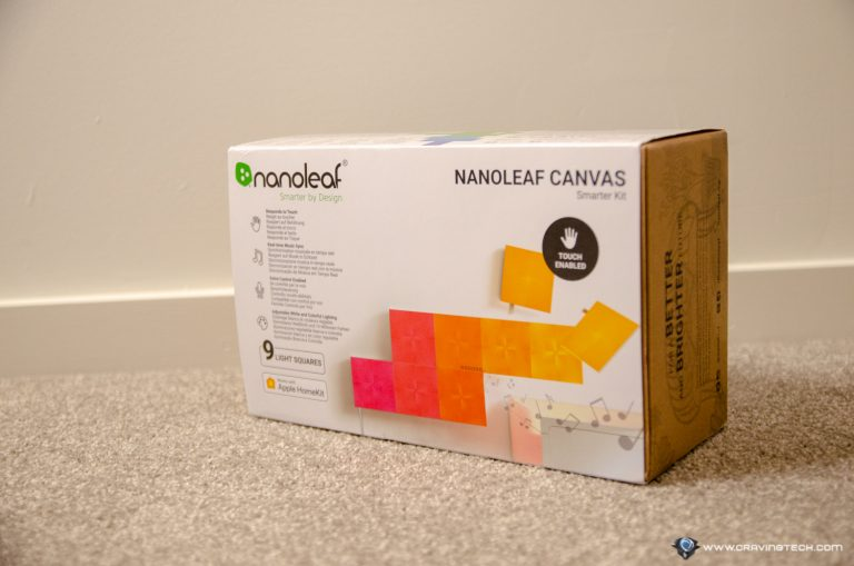 Nanoleaf Canvas Packaging