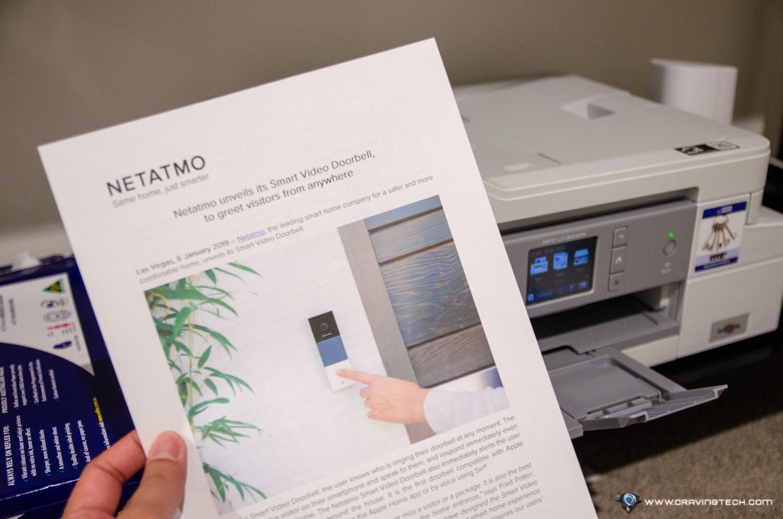 Brother MFC-J1300DW printer-18