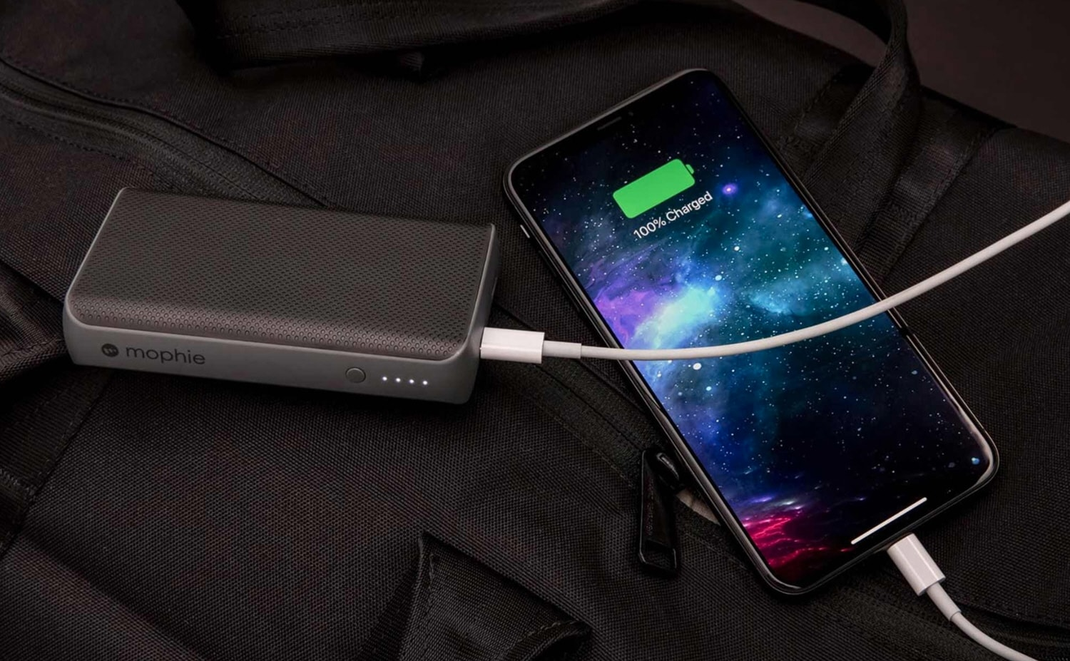Charge your iPhone 2.5 times faster on the go