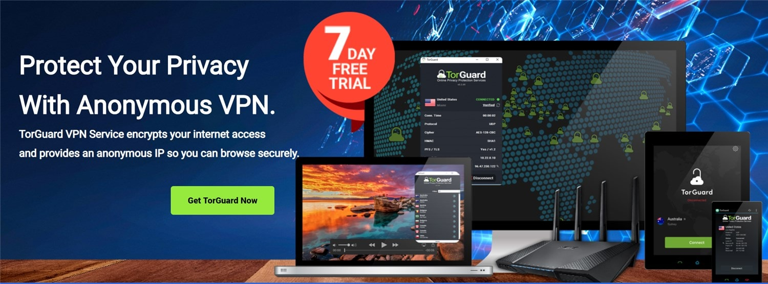 Protect your web traffic with TorGuard VPN and Proxy (+ 50% OFF promo code for life)