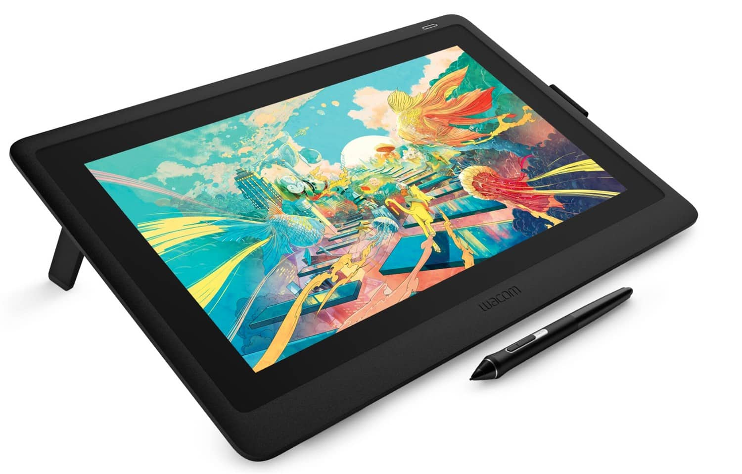 Wacom launches Cintiq 16, a fantastic tool for digital sketching, illustration, and technical drawing