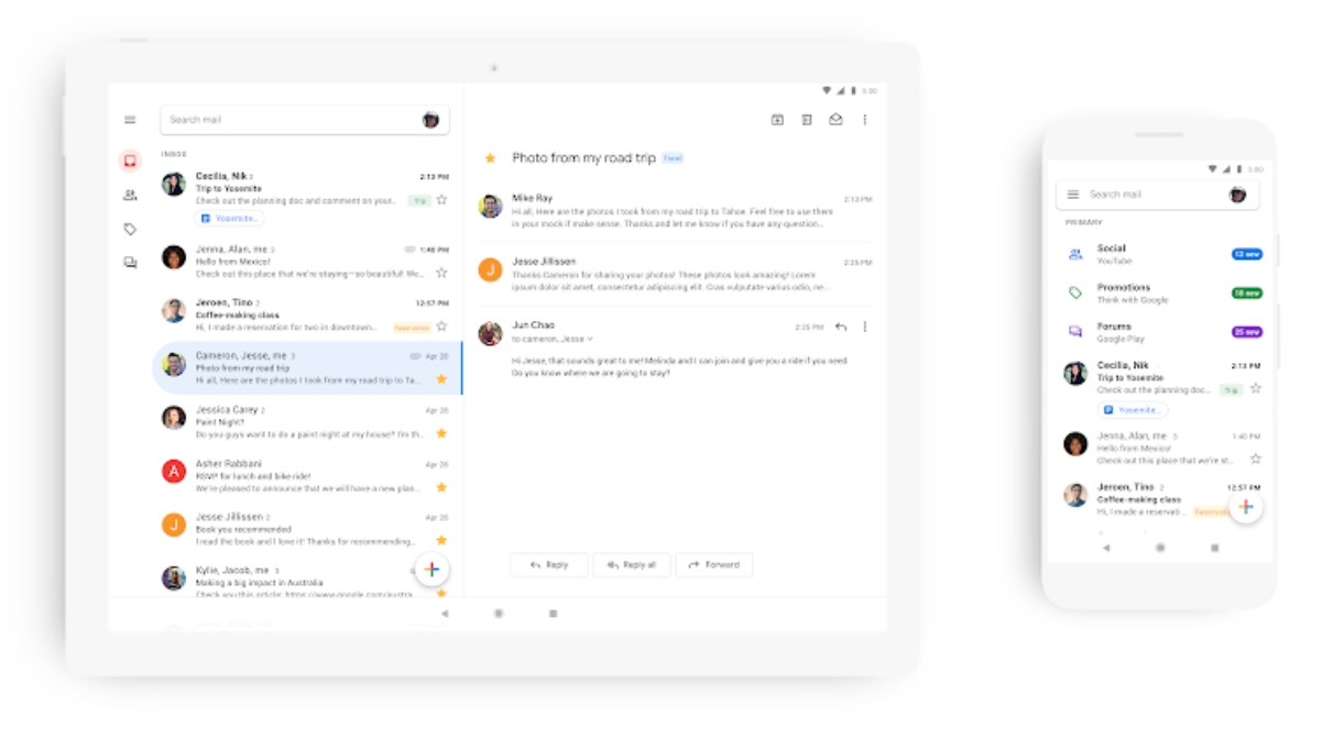 Gmail gets brighter, literally