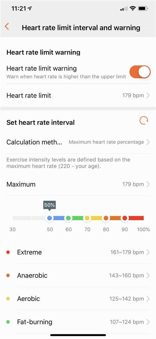 HUAWEI WATCH GT Heart Rate