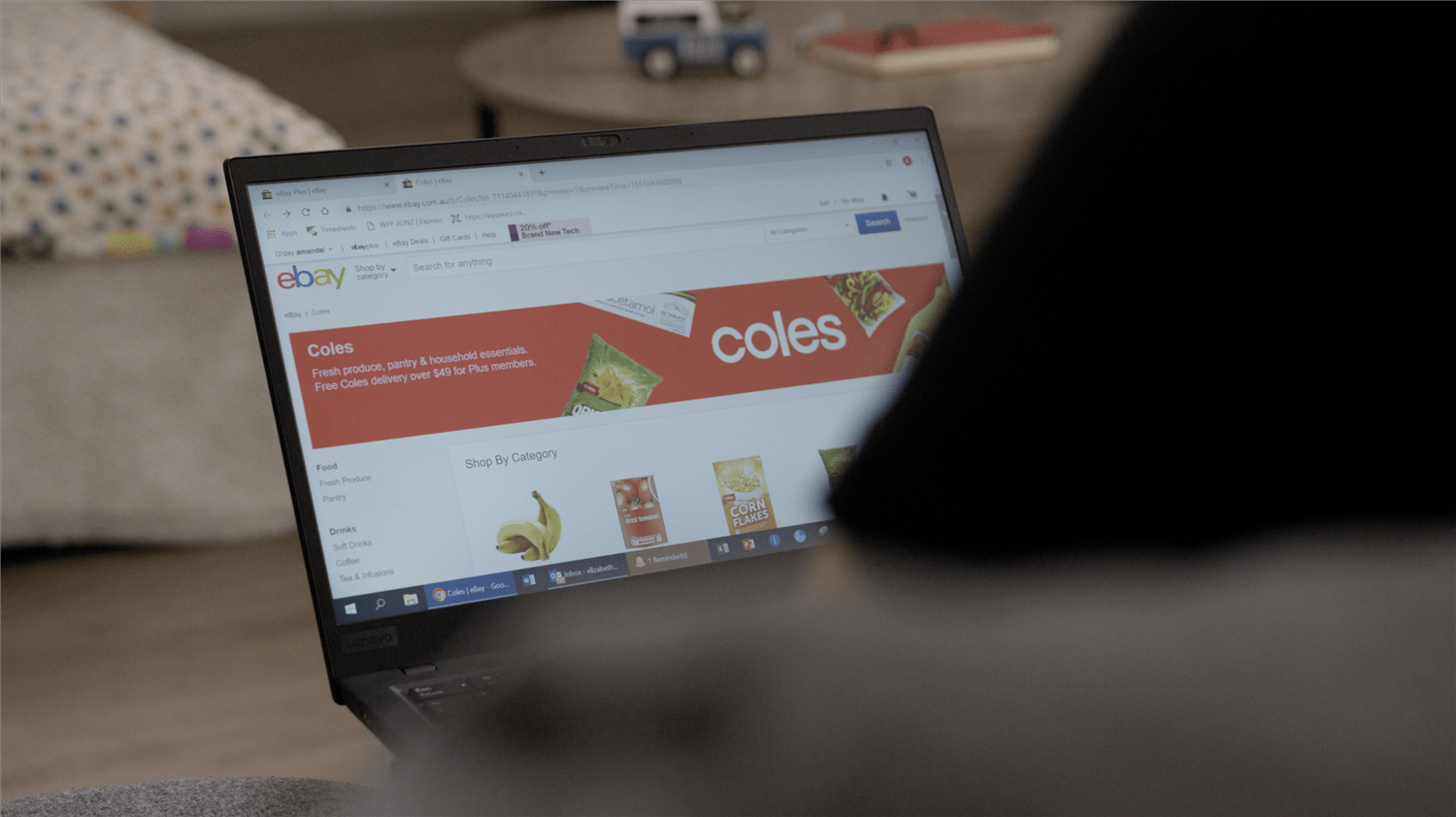 A step closer to online groceries – Coles groceries are now on eBay