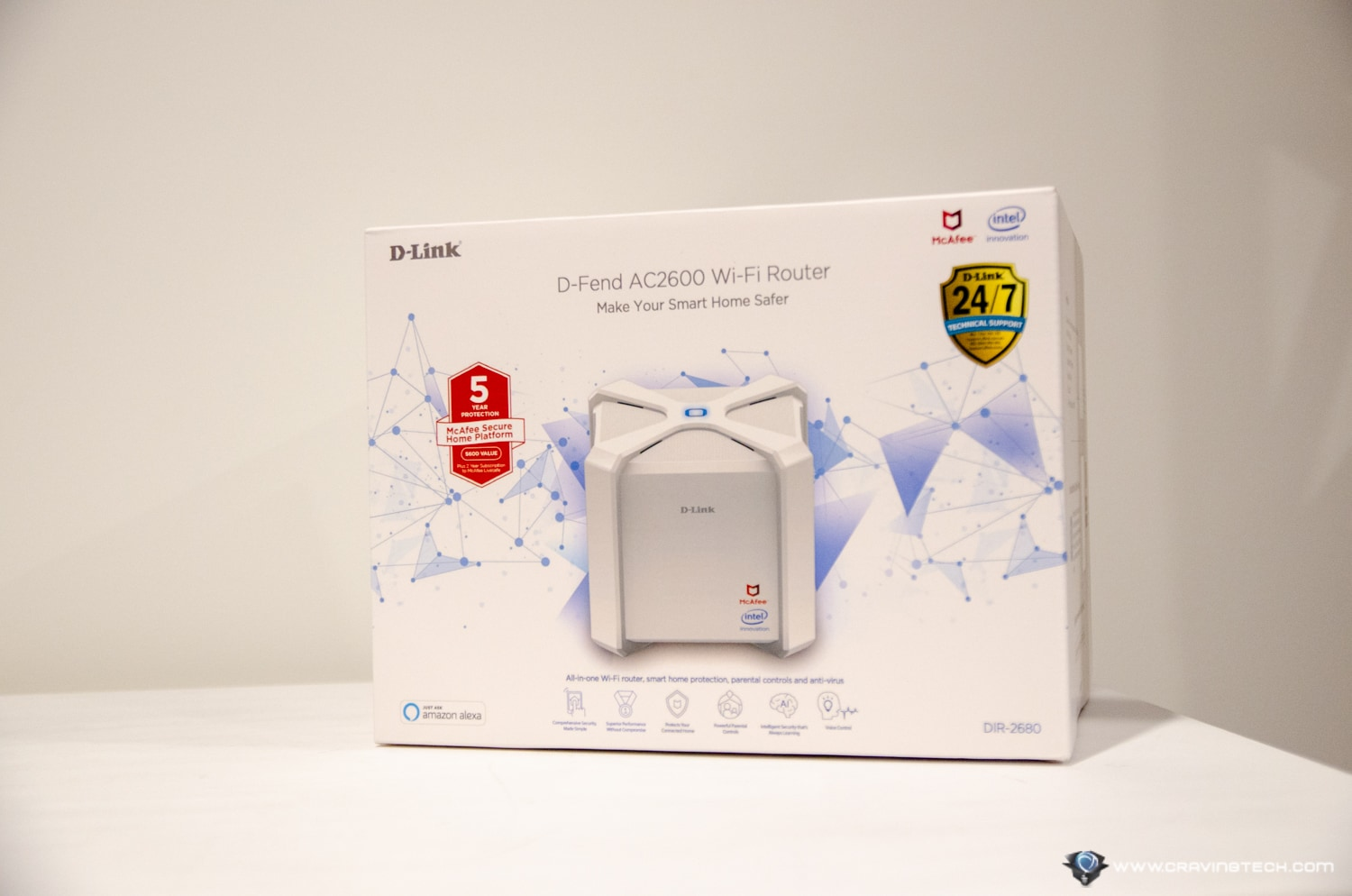 D-Link D-Fend Router Review Packaging