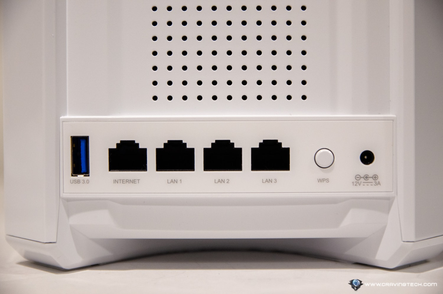 D-Link D-Fend Router Review Ports