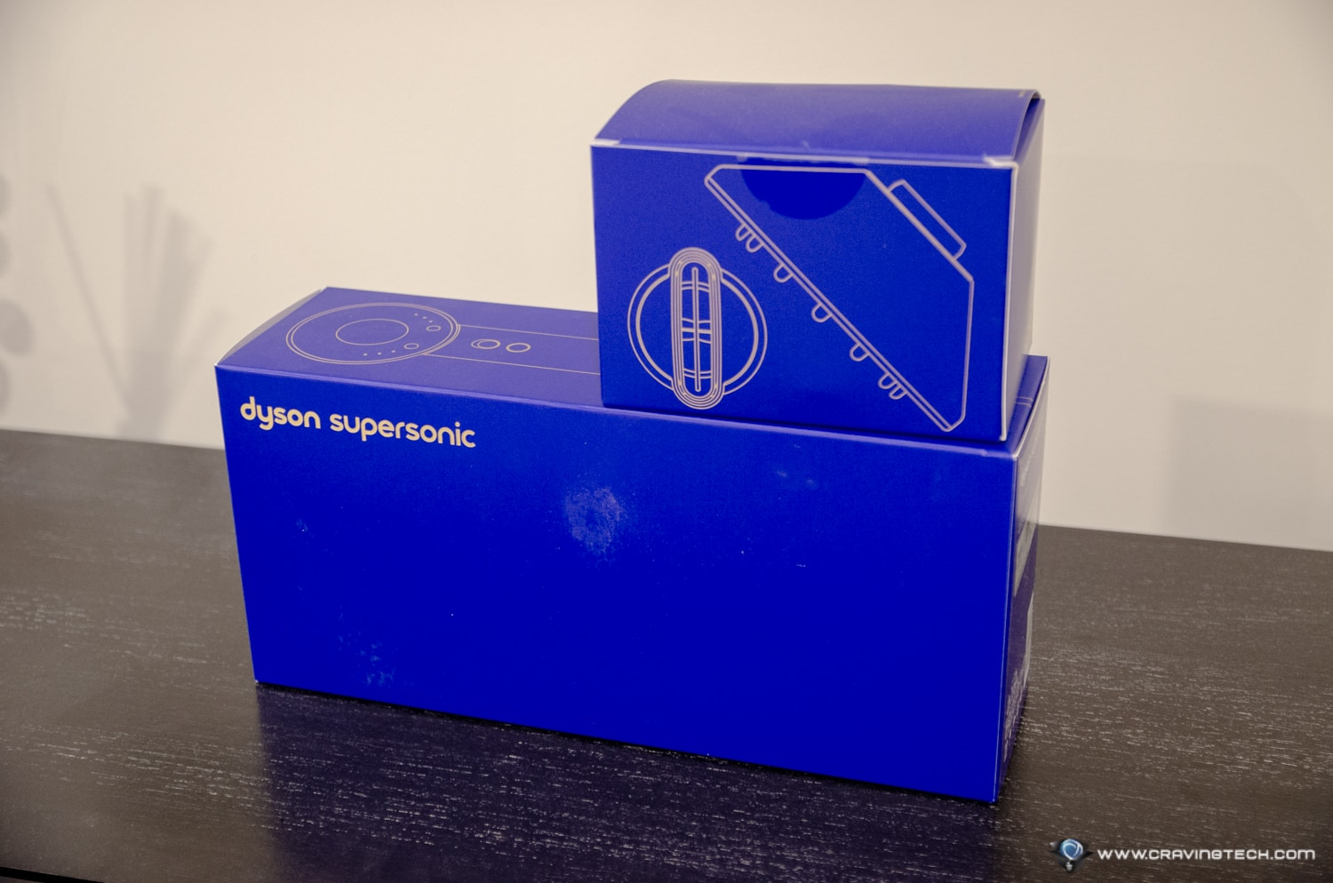 Dyson Supersonic Limited Edition in Gold Packaging