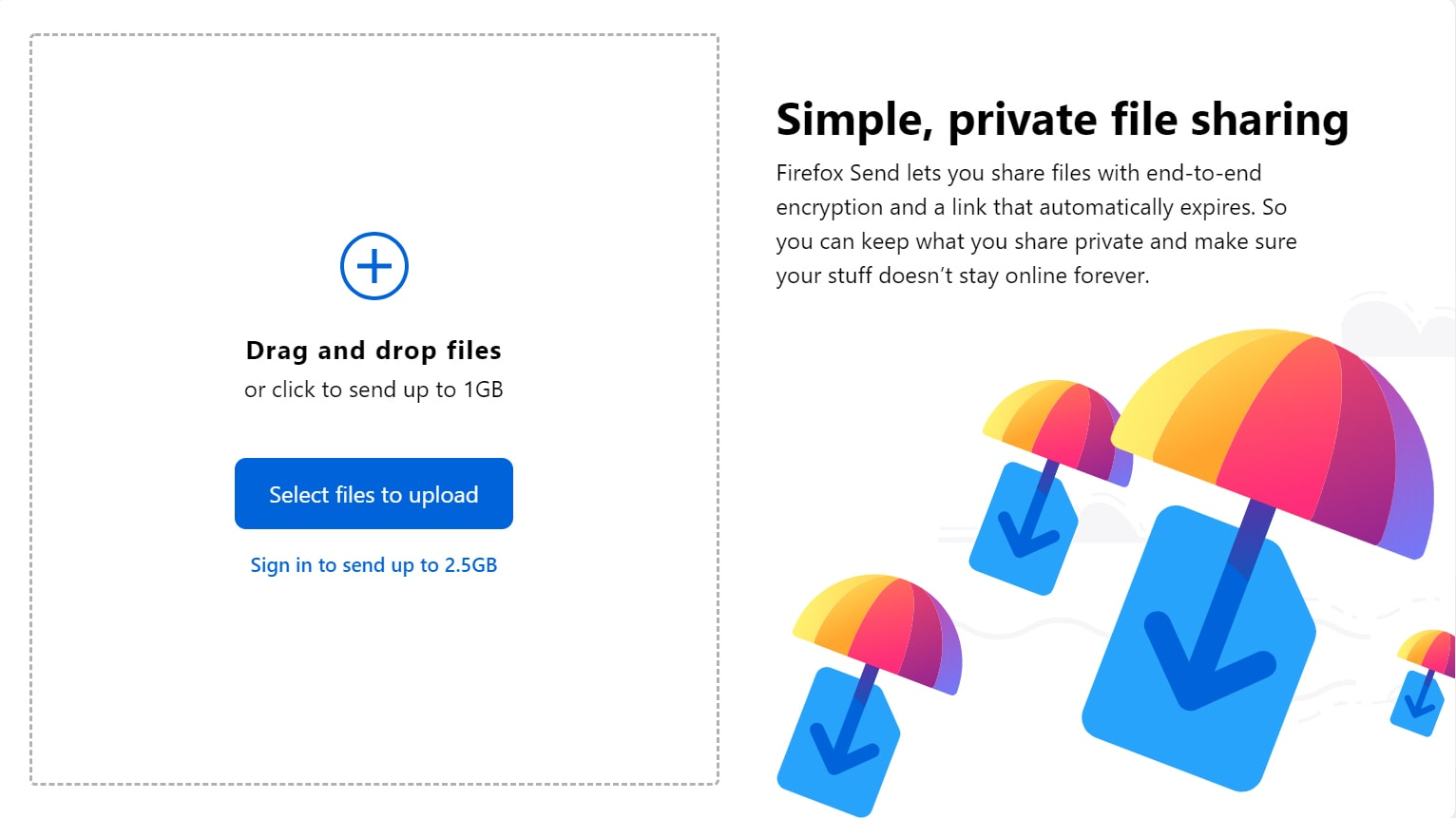 Share files securely with Mozilla's new Firefox Send free file sharing service
