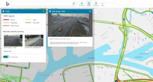 Bing Maps Real Traffic Camera