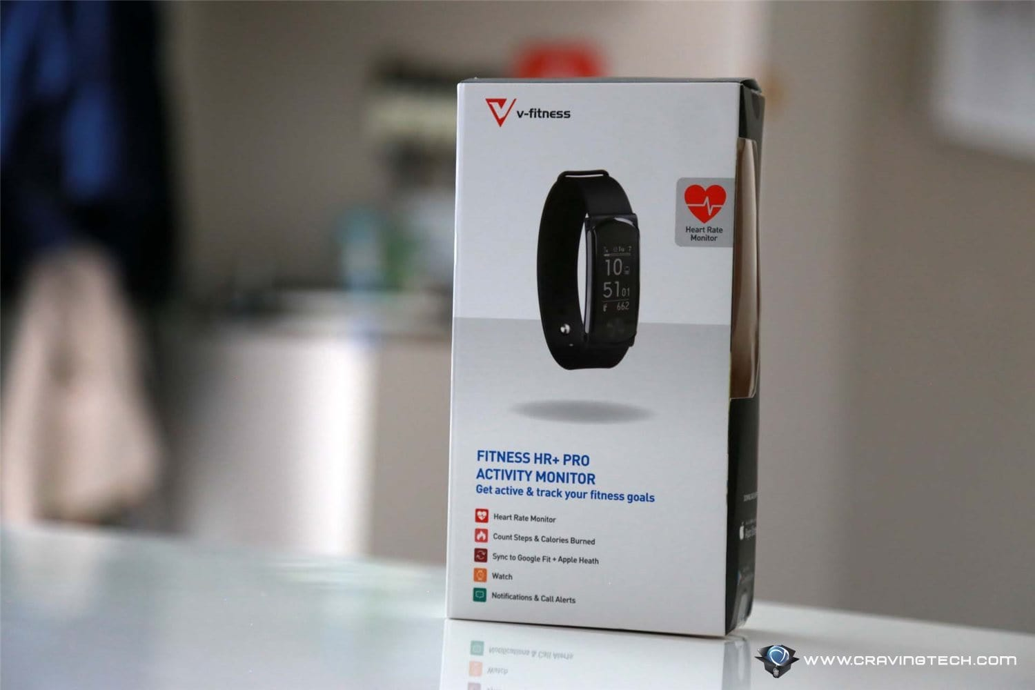 A cheaper Fitbit alternative? V-Fitness Activity Monitor Review