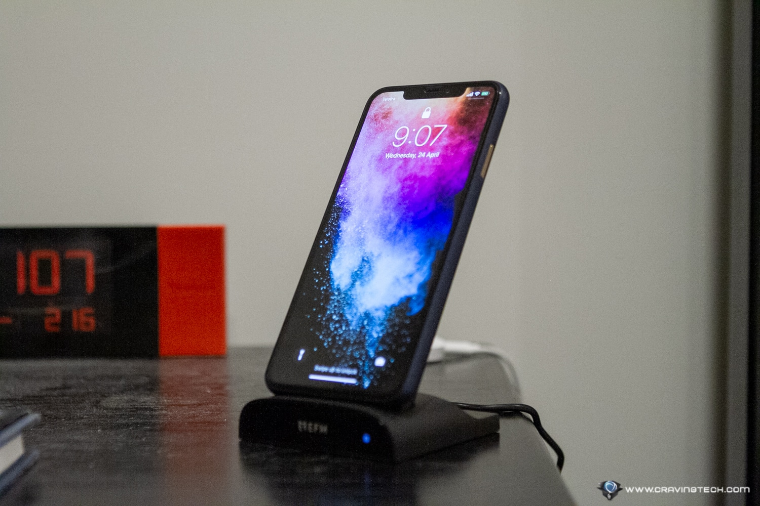 EFM Wireless Power Bank with Desktop Stand Review