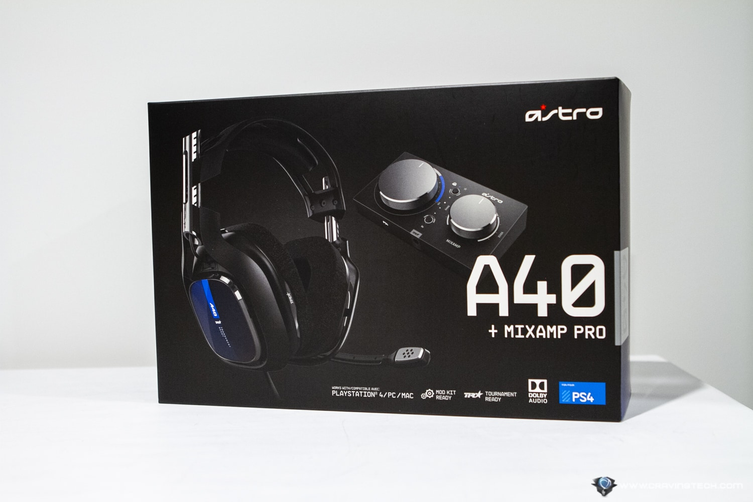 ASTRO A40 TR & MixAmp Pro Packaging