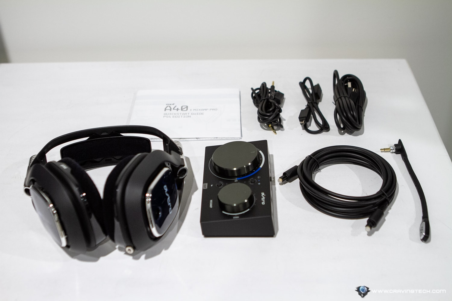 ASTRO A40 TR & MixAmp Pro Packaging Contents