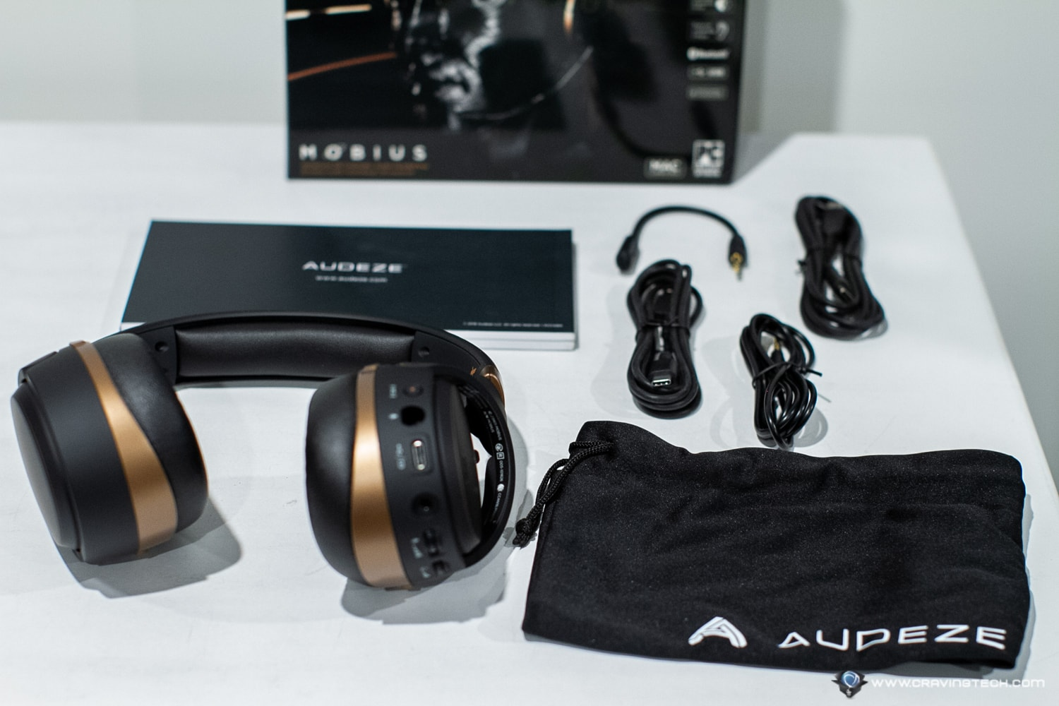 Audeze Mobius Audiophile Gaming Headset Packaging
