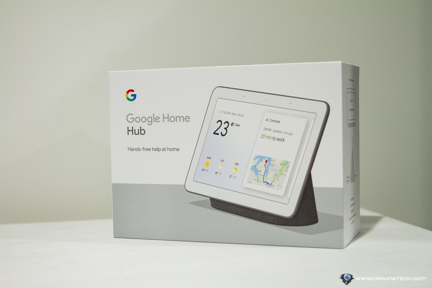 Google Nest Hub Packaging
