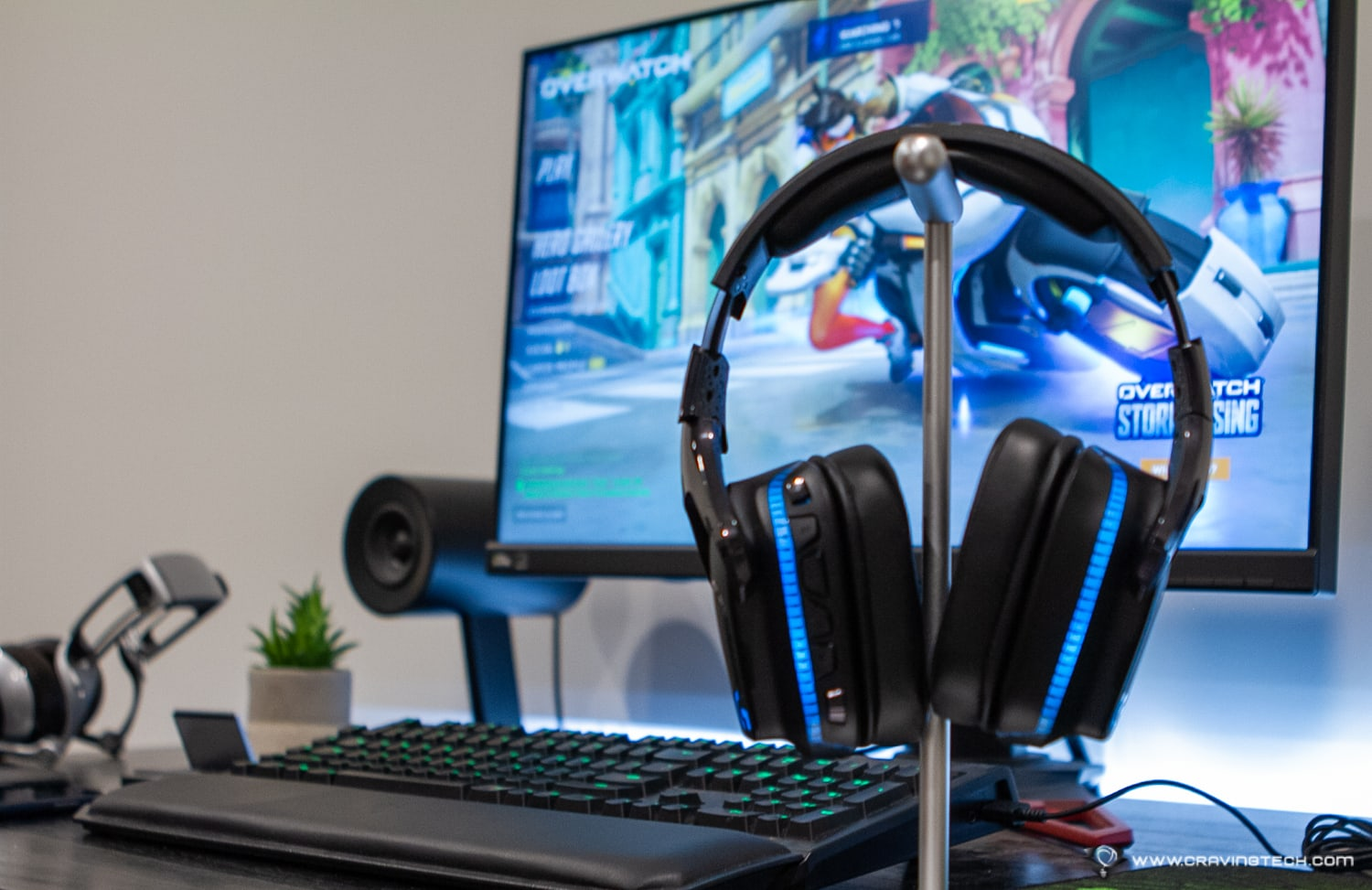 Powerful sound on a wireless gaming headset – Logitech G935 Review