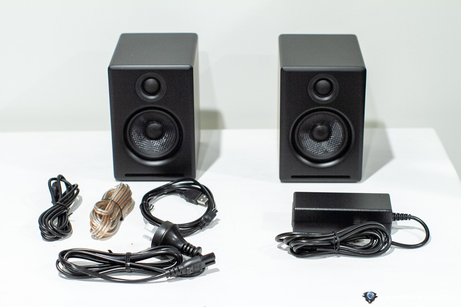 AudioEngine A2+ Wireless Speakers Packaging Contents