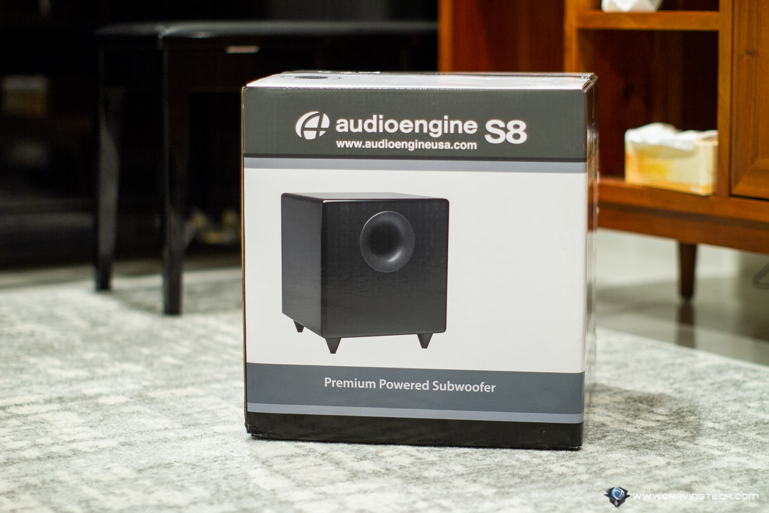 AudioEngine S8 Packaging