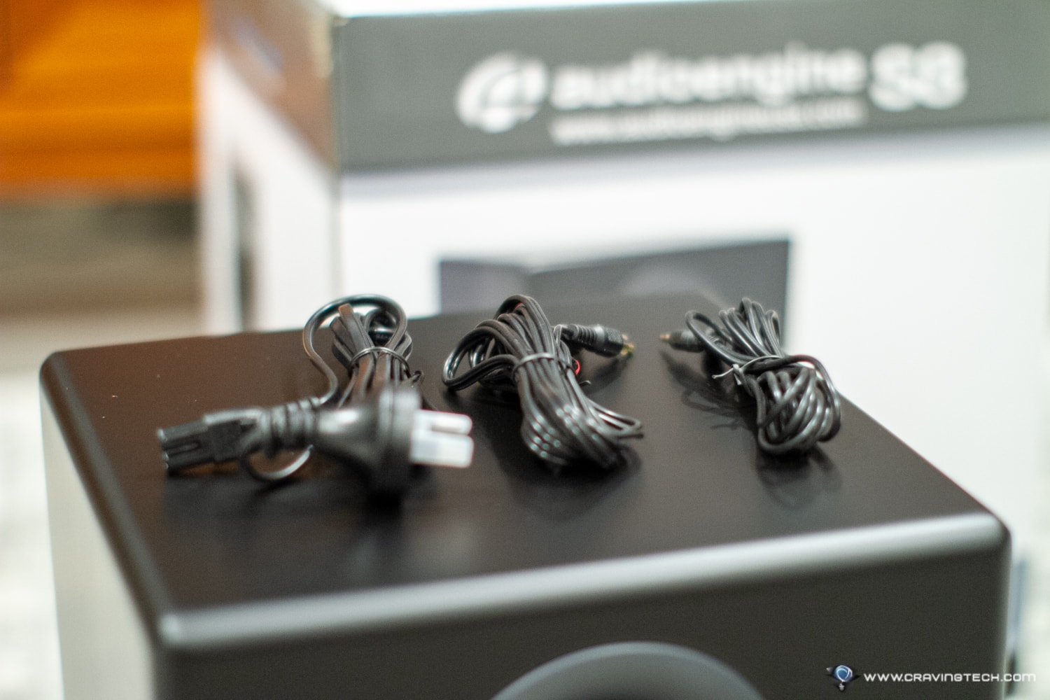 AudioEngine S8 Subwoofer cables