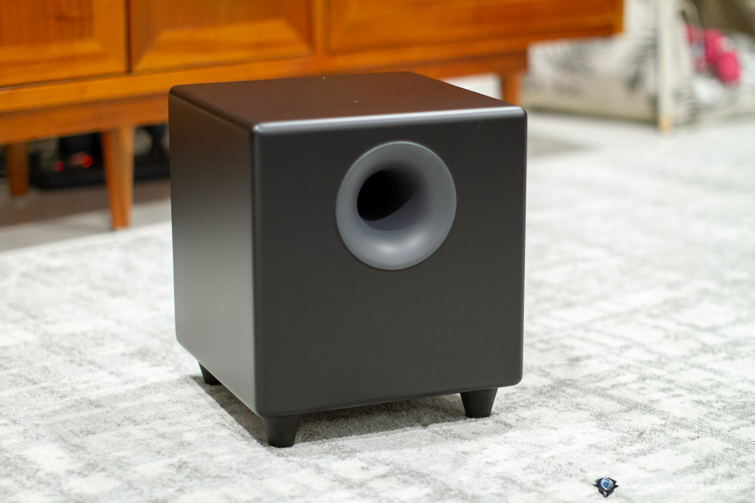 Shake the house with the AudioEngine S8 Subwoofer