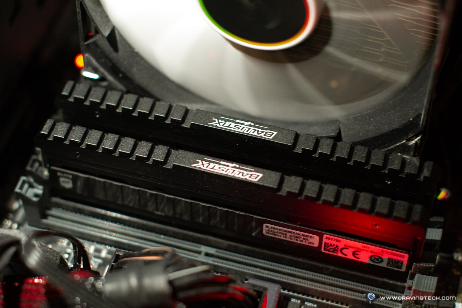 Breaking the Overclocking world record – Crucial Ballistix Elite DDR4 PC3600