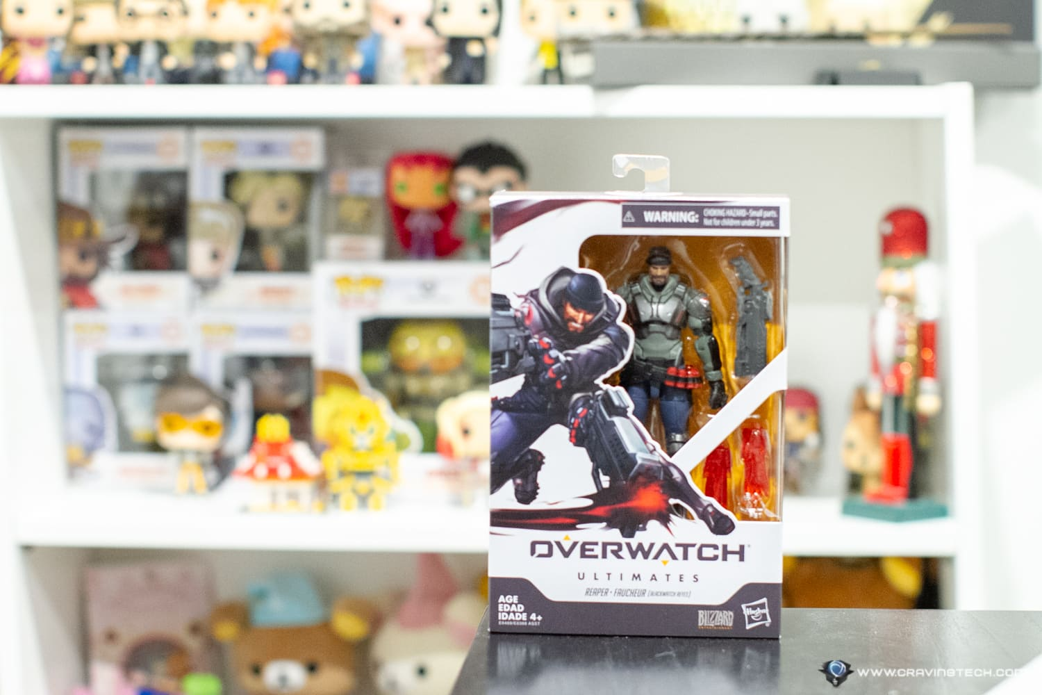 Overwatch Ultimates 6-inch Figurine completes your Overwatch Funko POP! Collection