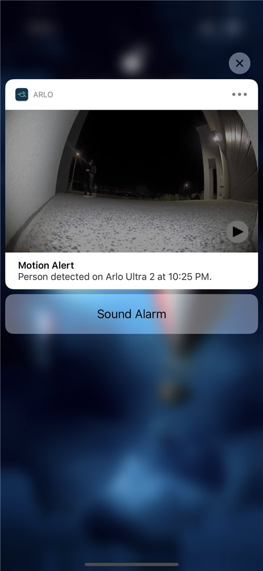 Arlo-Utra-Review-Night-Rich-App-Notification