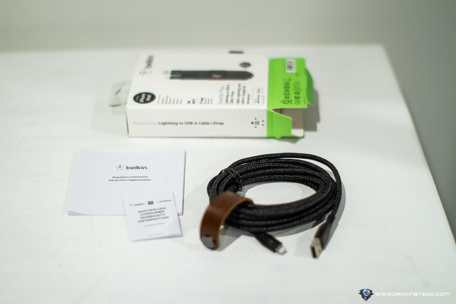 Belkin DuraTek Plus Packaging Contents