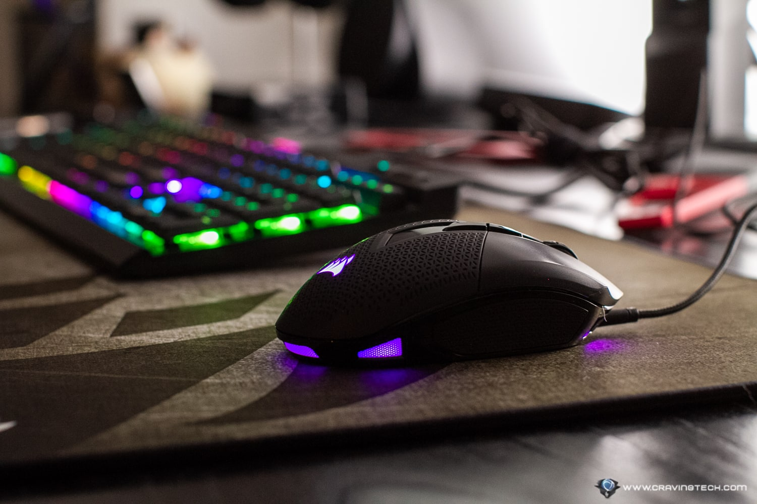 Accurate & Comfortable - CORSAIR NIGHTSWORD RGB Gaming Mouse