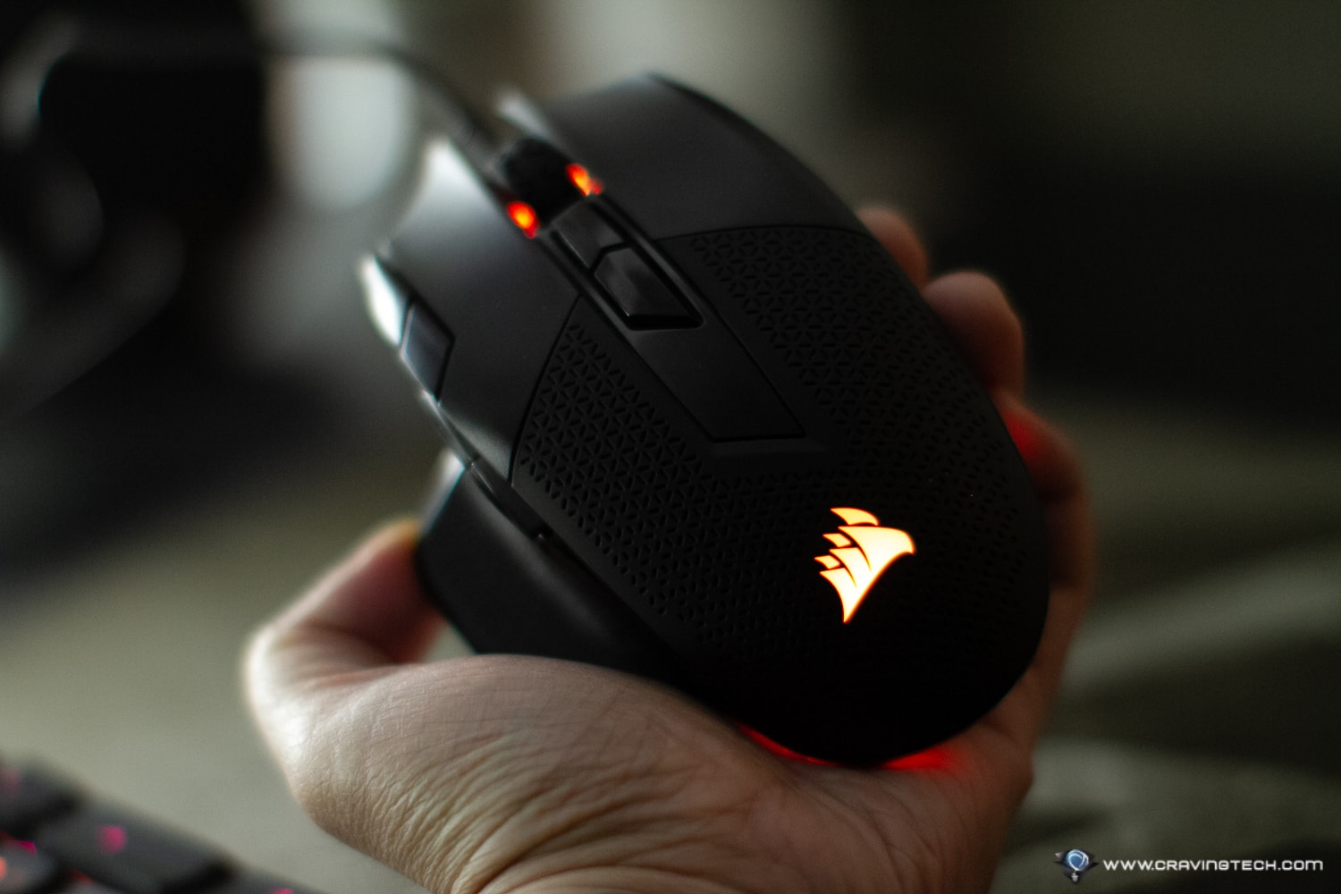 CORSAIR NIGHTSWORD RGB Mouse Review