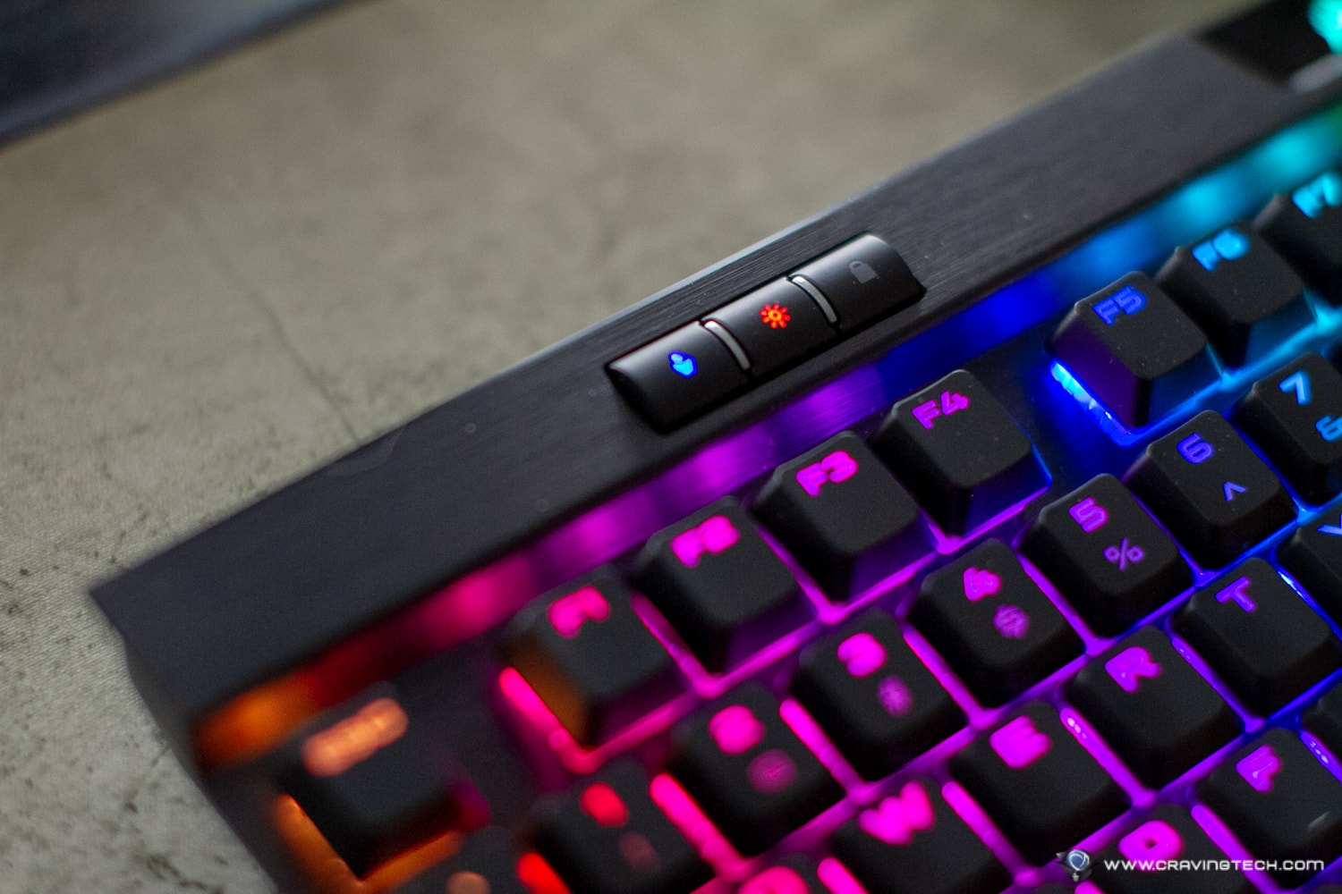 Corsair K70 RGB Mk2 Low Profile Gaming Keyboard