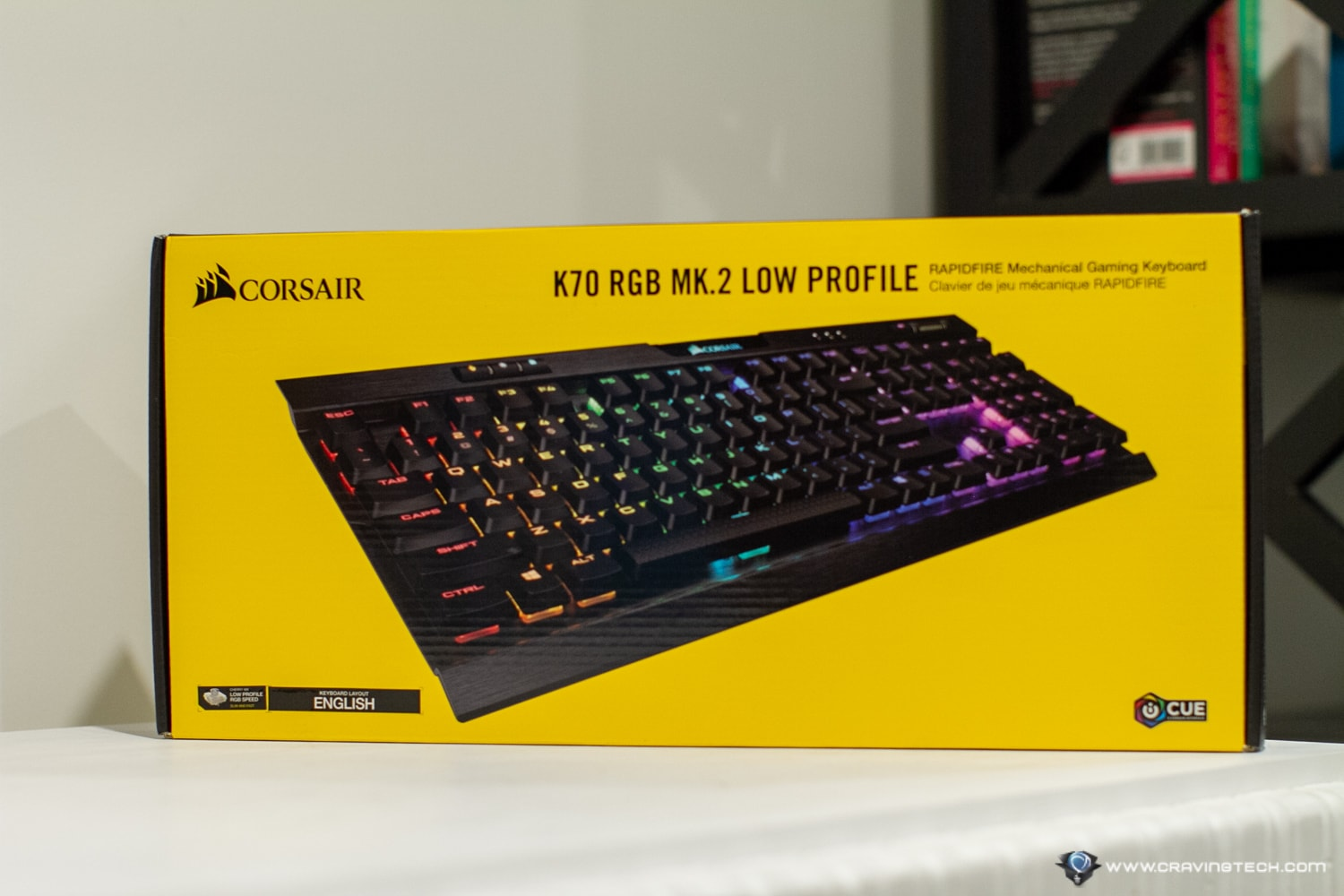 CORSAIR K70 RGB MK 2 LOW PROFILE Gaming Keyboard Review