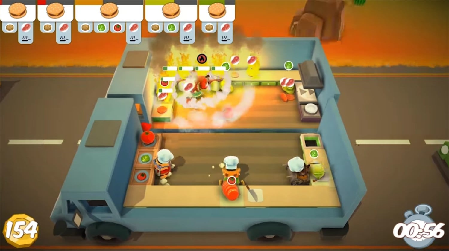 Free Overcooked game for PC