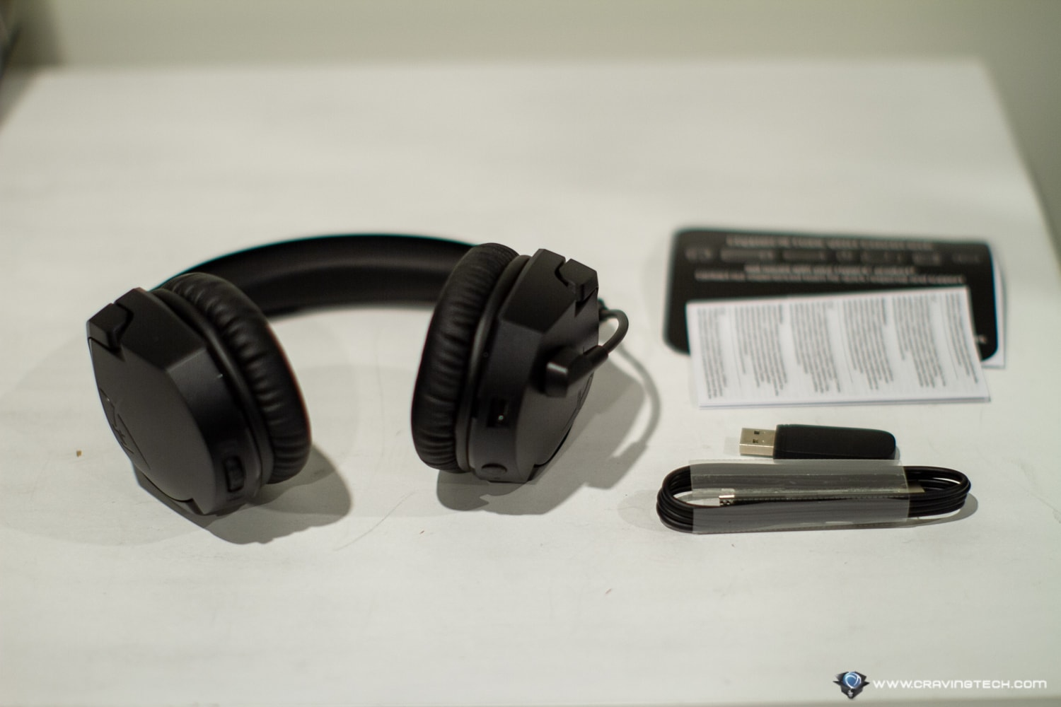 HyperX Cloud Stinger Wireless Gaming Headset Packaging Contents