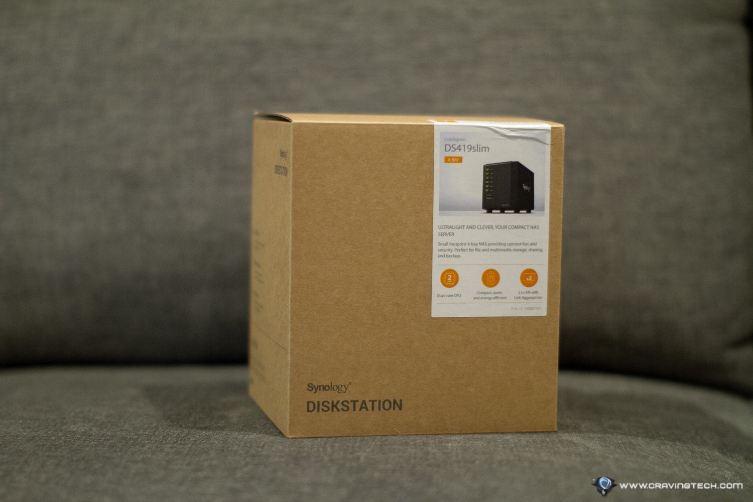Synology DiskStation DS419slim Packaging