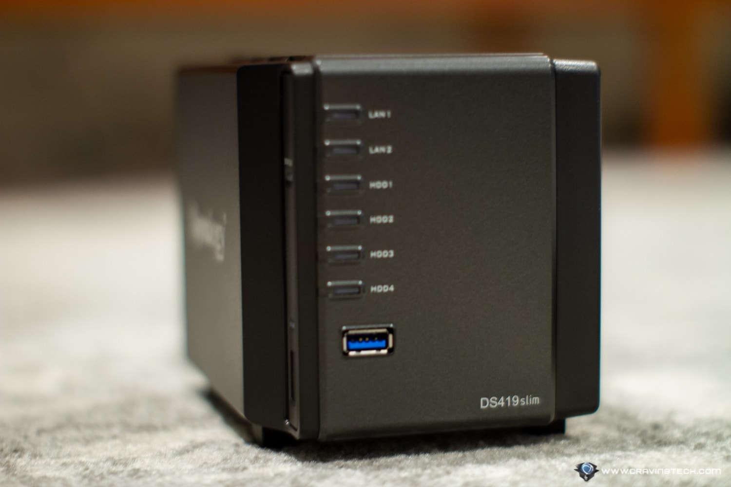 Synology DiskStation DS419slim Review