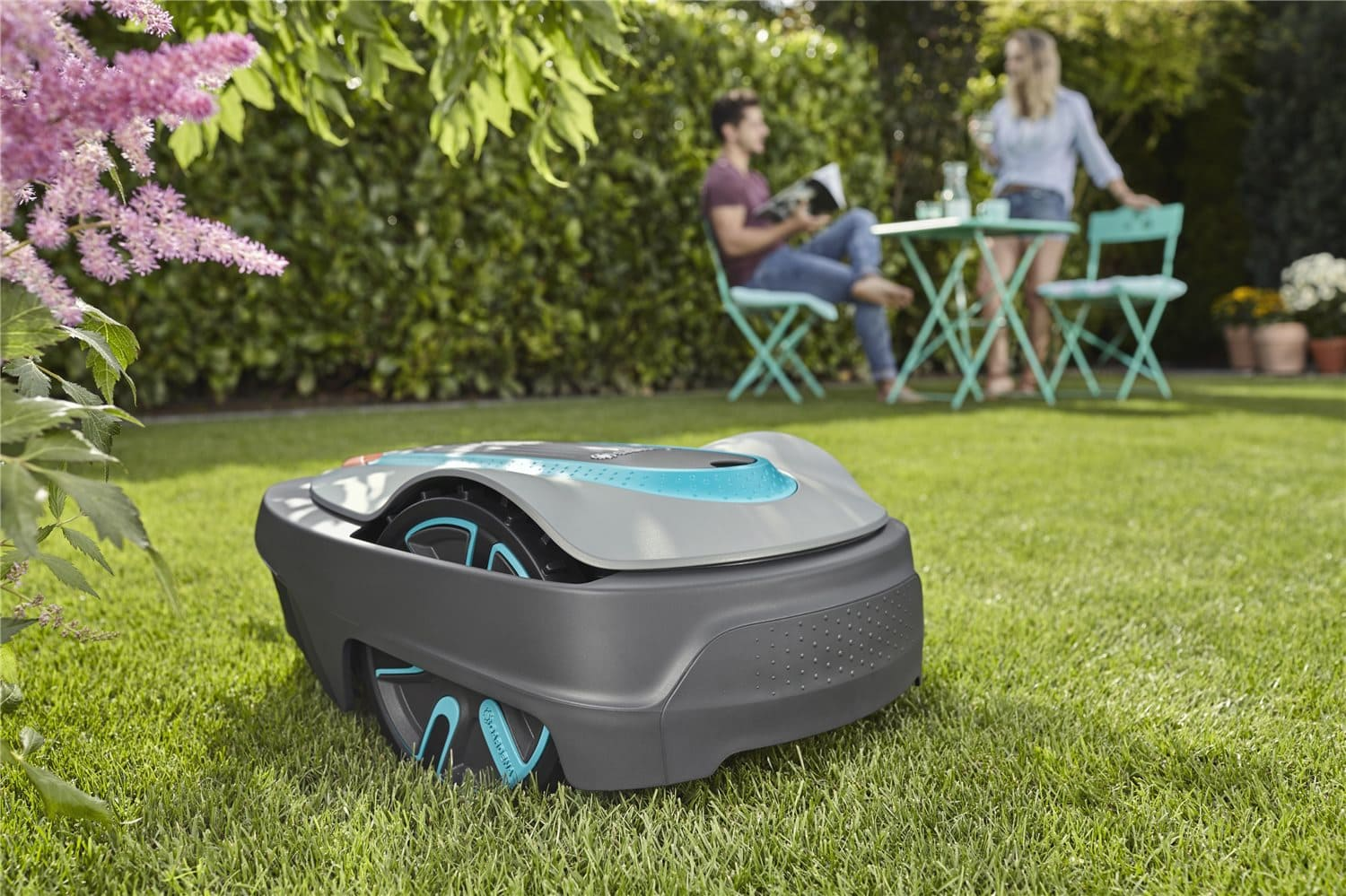 Tired with your overgrown backyard? You definitely need this bot to mow your lawn